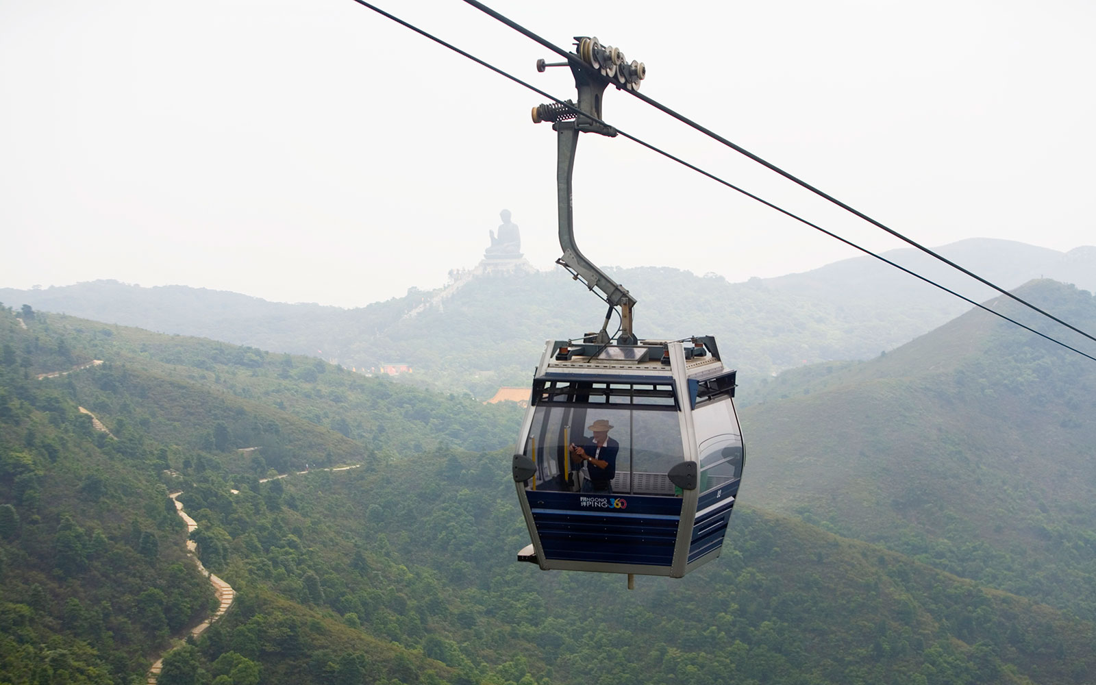 World's Coolest Tram Rides: Ngong Ping 360, Hong Kong