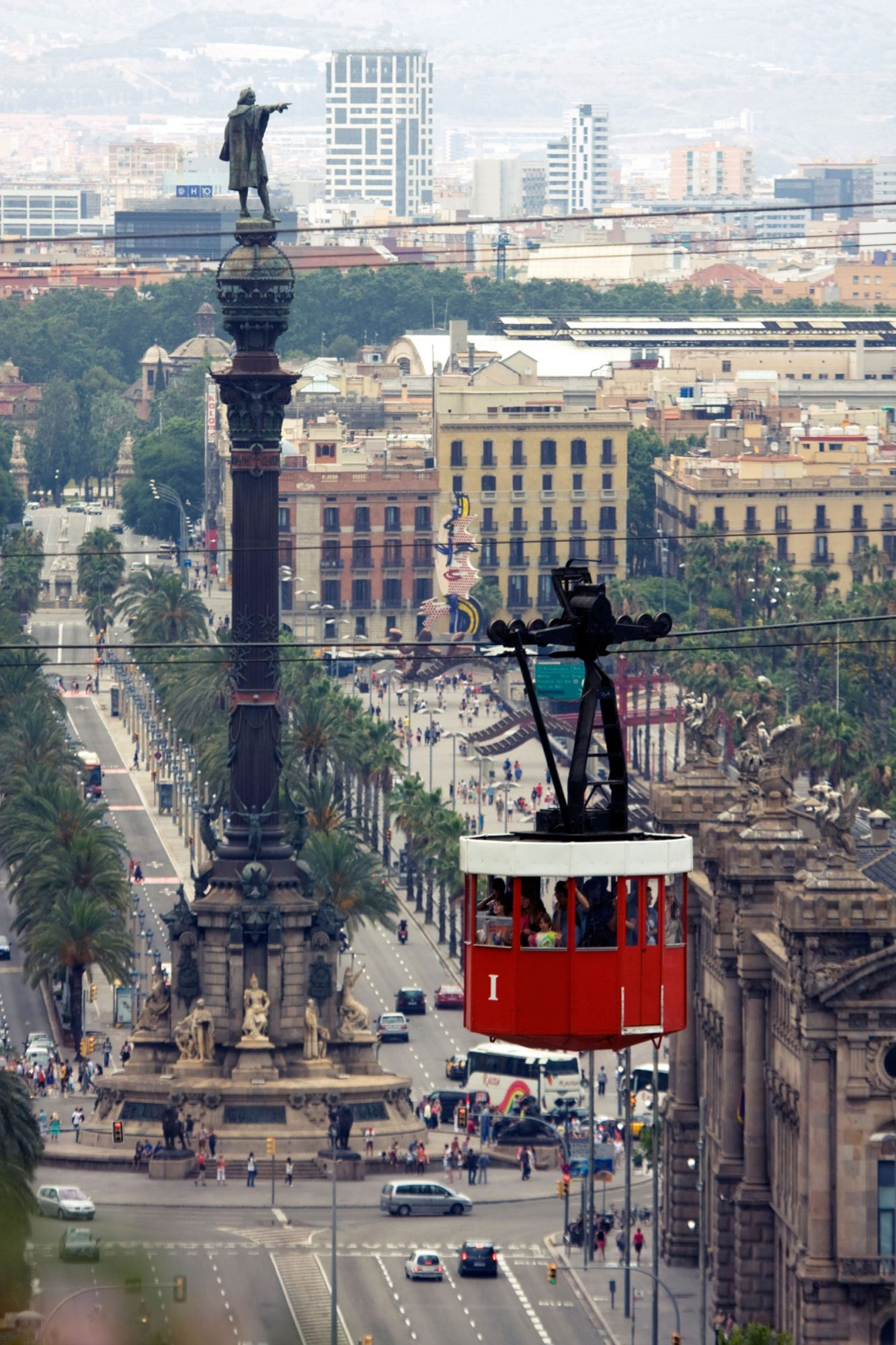 World's Coolest Tram Rides: Port Vell Aerial Tramway, Barcelona