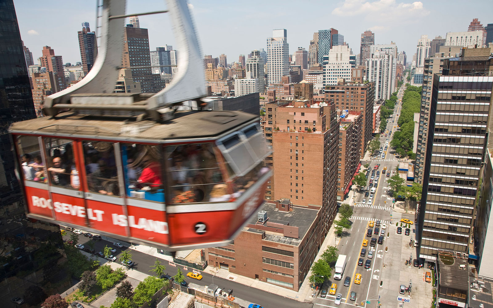 World's Coolest Tram Rides: Roosevelt Island, New York City
