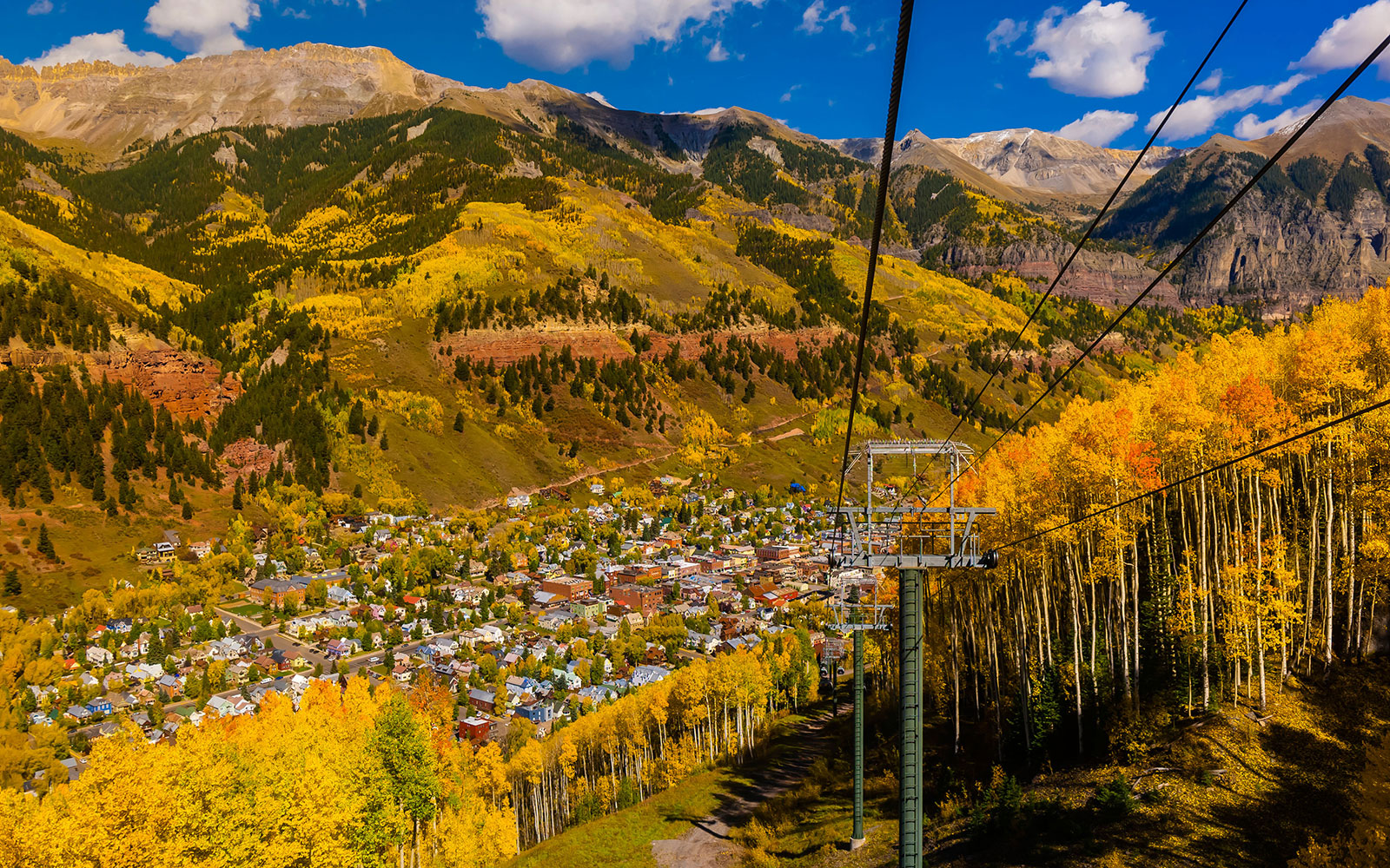 World's Coolest Tram Rides: Telluride Gondola, Colorado