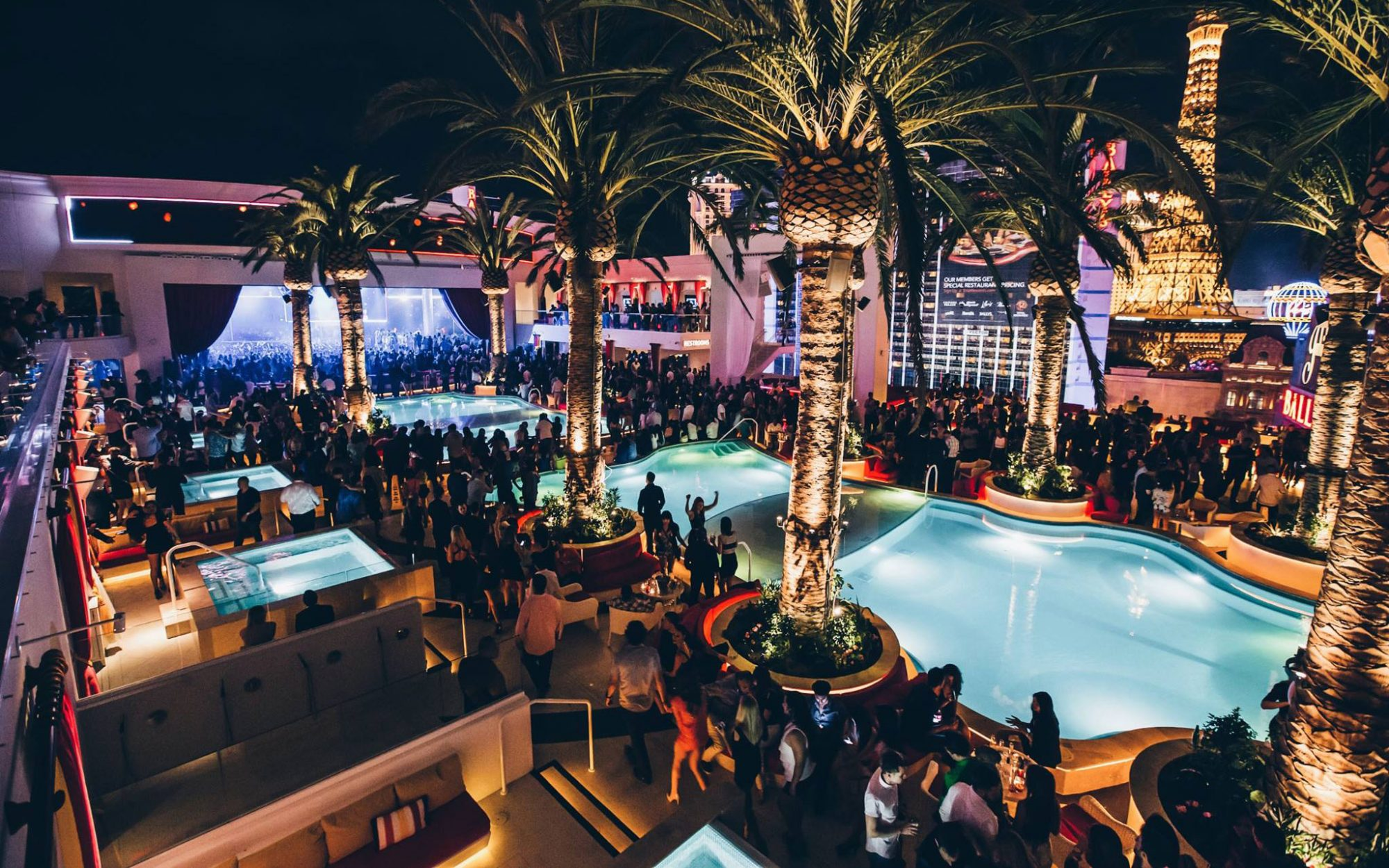 America's Coolest Rooftop Bars: Drai's Beach Club at the Cromwell, Las Vegas