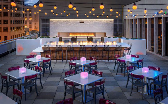 America's Coolest Rooftop Bars: Frolik Kitchen and Cocktails, Seattle