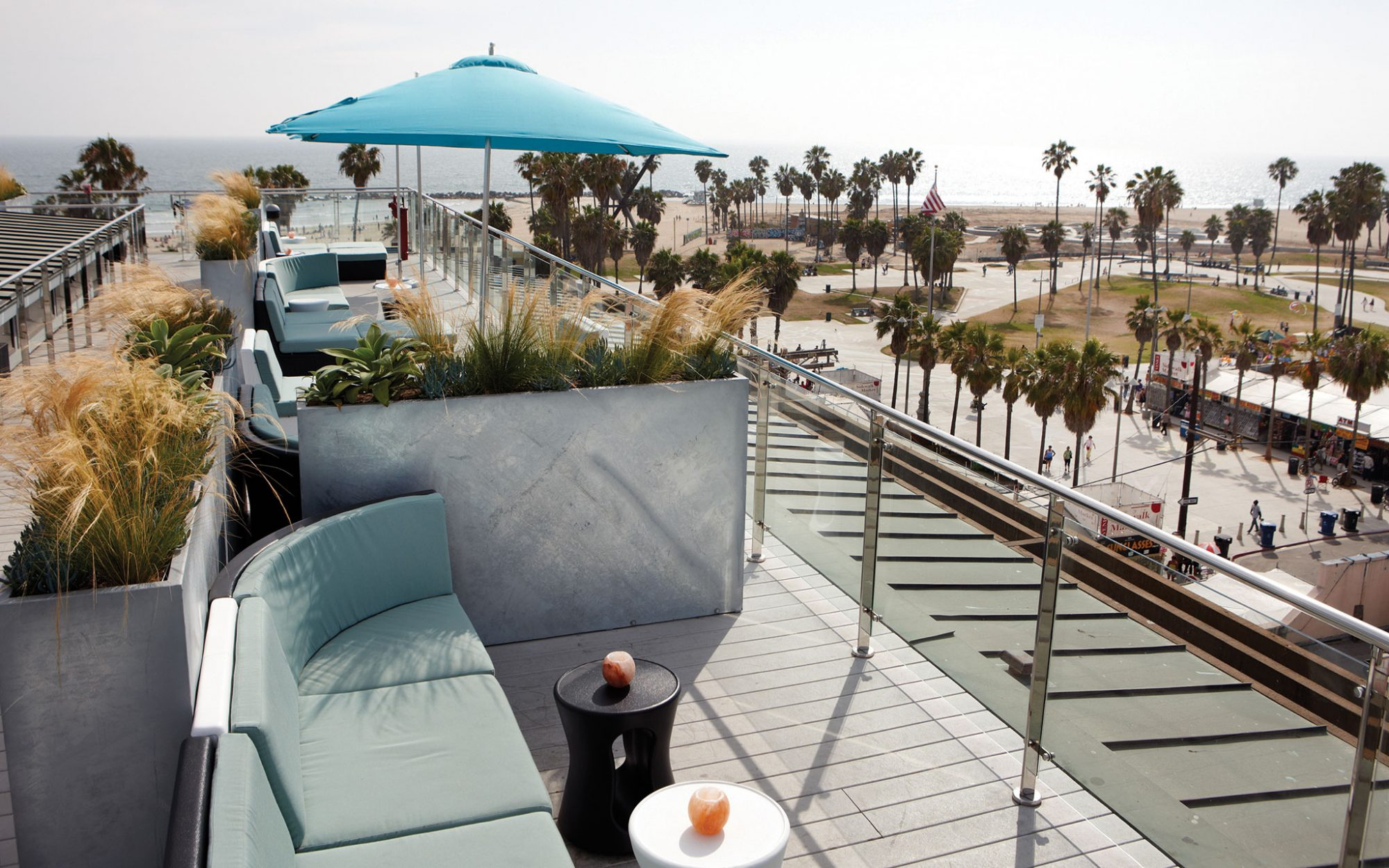 America's Coolest Rooftop Bars: High at Hotel Erwin, Venice Beach, CA