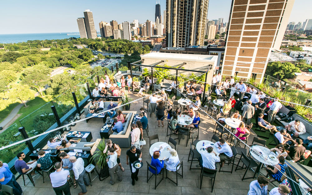 America's Coolest Rooftop Bars: The J. Parker, Chicago