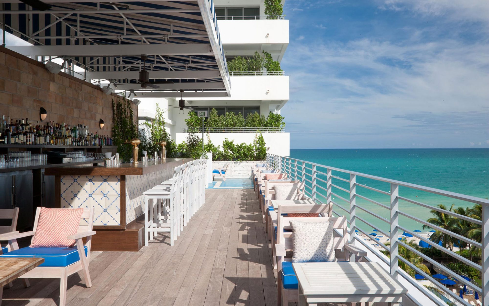 America's Coolest Rooftop Bars: Soho Beach House, Miami
