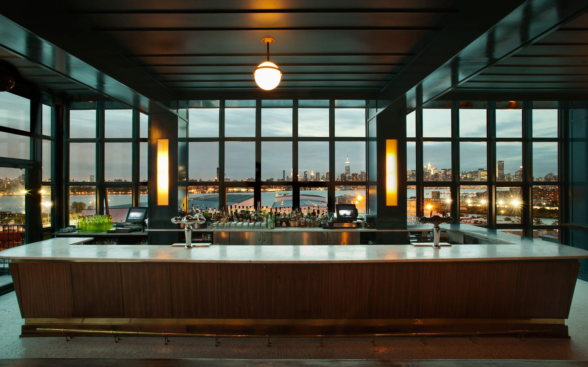 America's Coolest Rooftop Bars: Ides at the Wythe Hotel, Brooklyn, NY