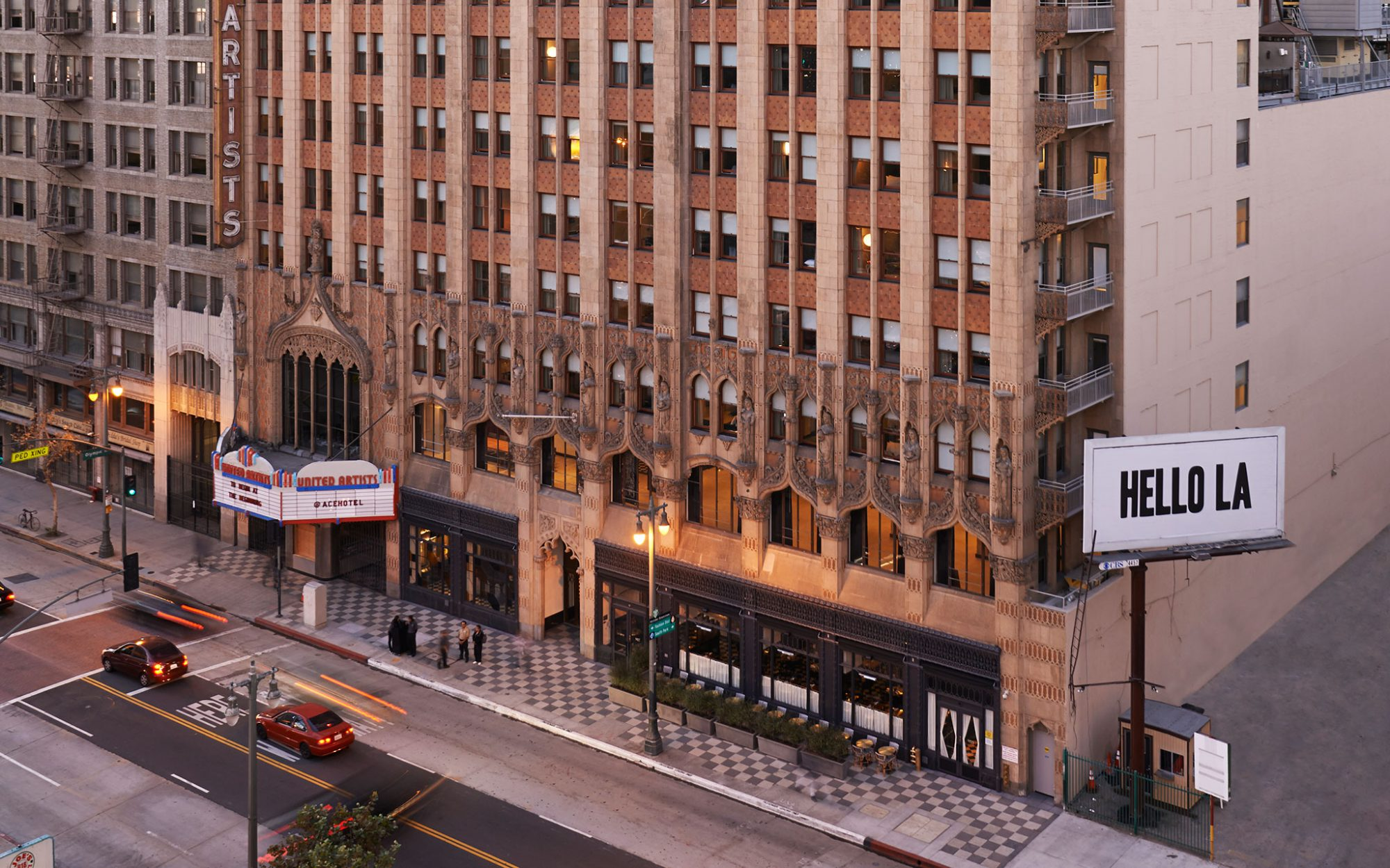 America's Coolest Rooftop Bars: Upstairs Ace Hotel, Los Angeles (Downtown)