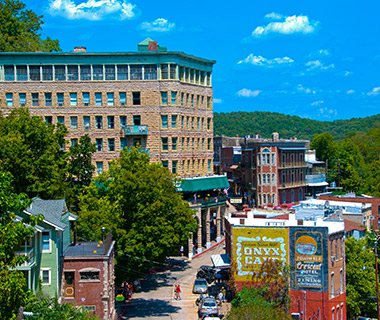 America's Favorite Mountain Towns: Eureka Springs, AR