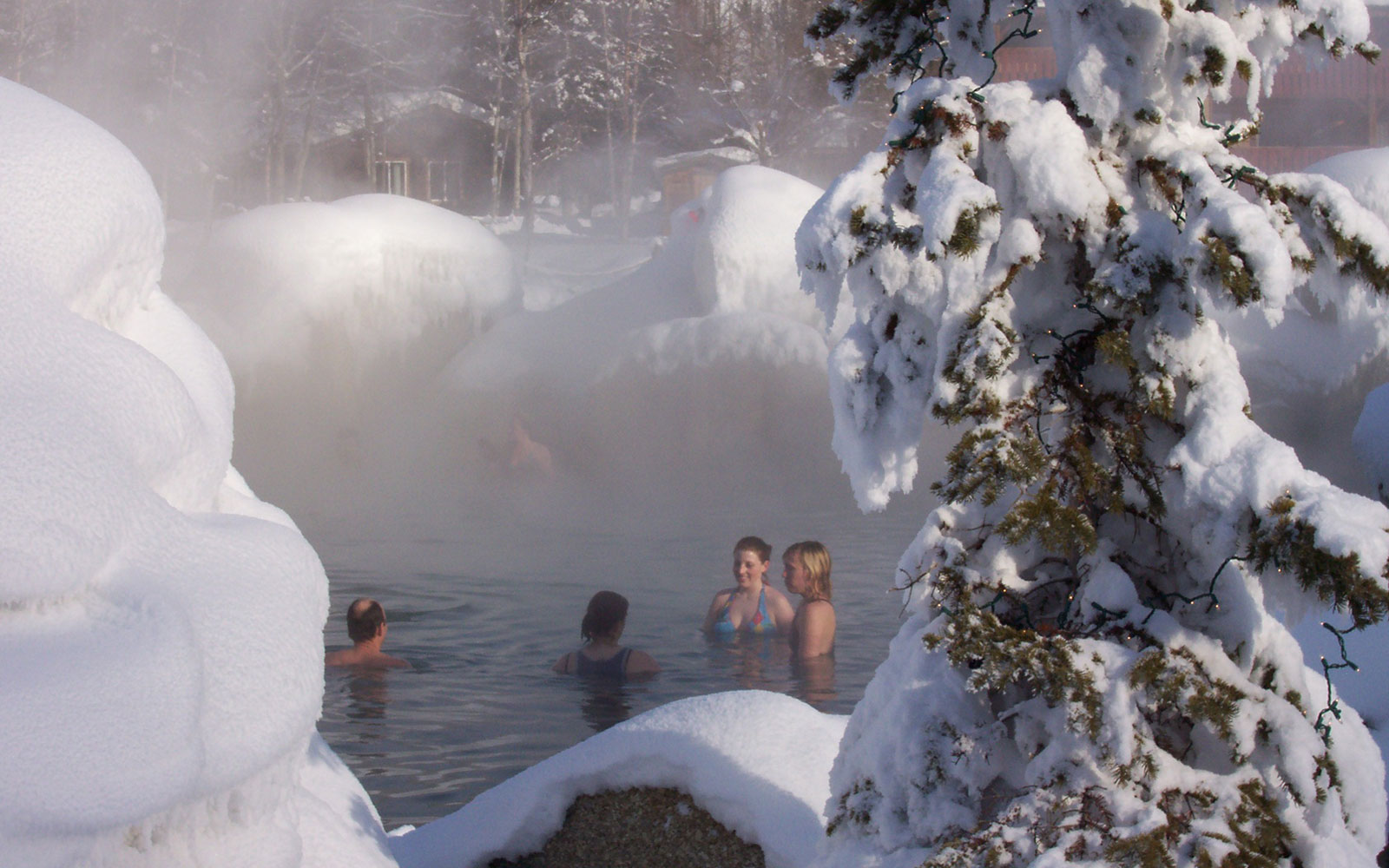 America's Best Swimming Holes: Chena Hot Springs, Fairbanks, AK