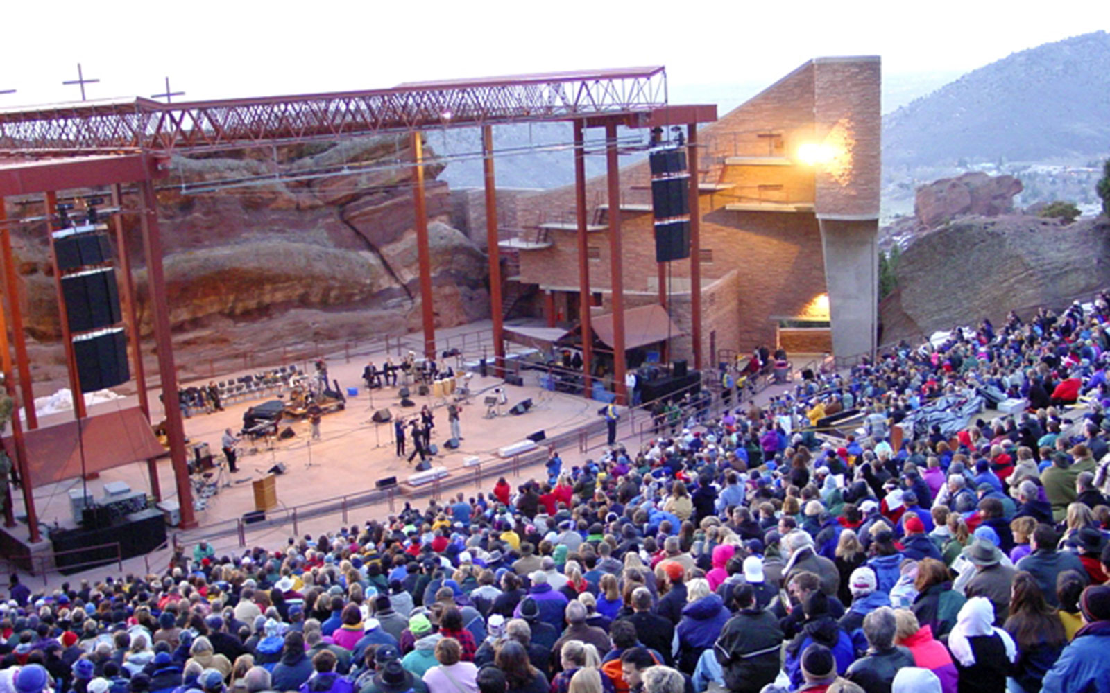 America's Coolest Music Venues: Red Rocks Amphitheatre