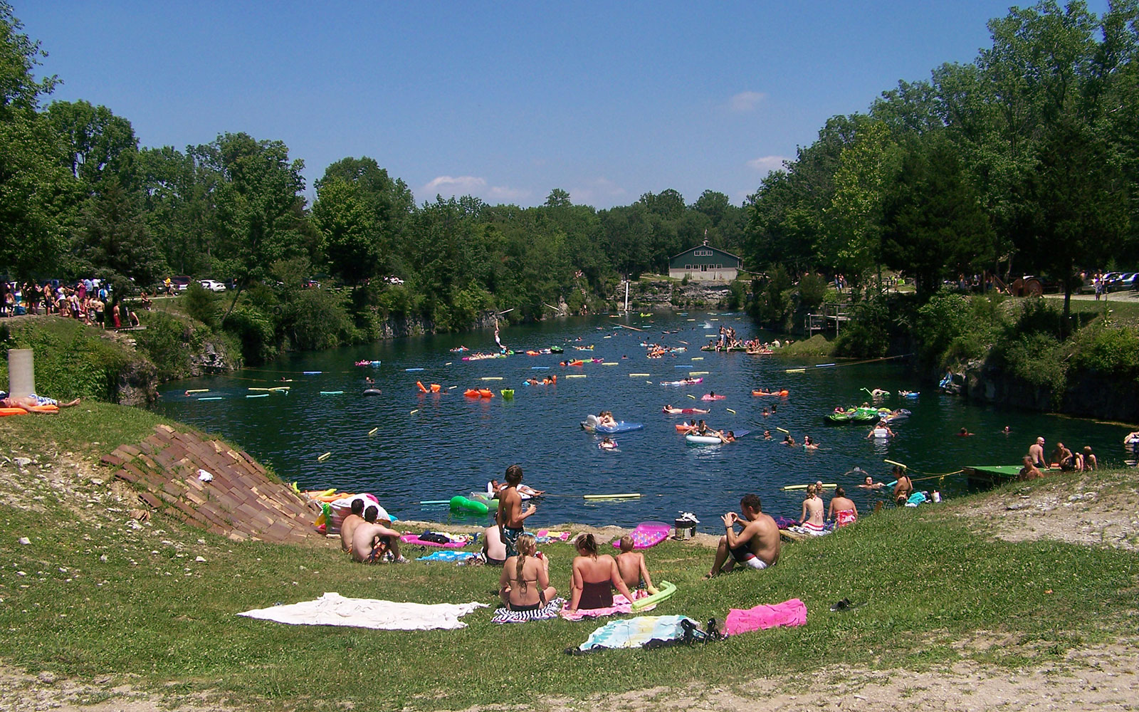 America's Best Swimming Holes: White Rock Park, St. Paul, IN