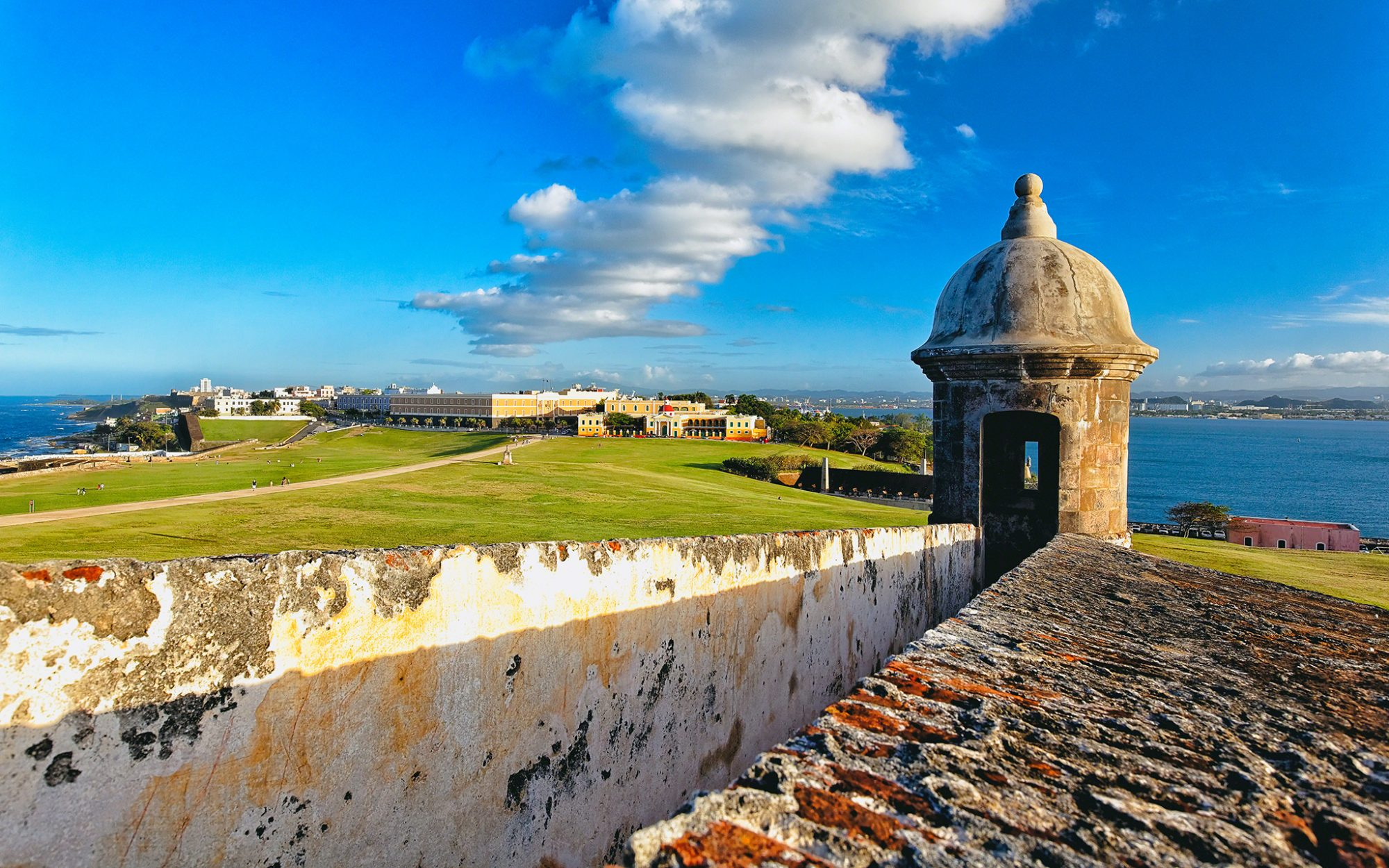 Best Views in America: El Morro Fort, San Juan, P.R.