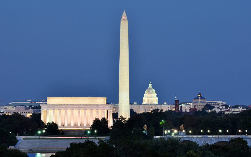 Best Views in America: National Mall, Washington, D.C.