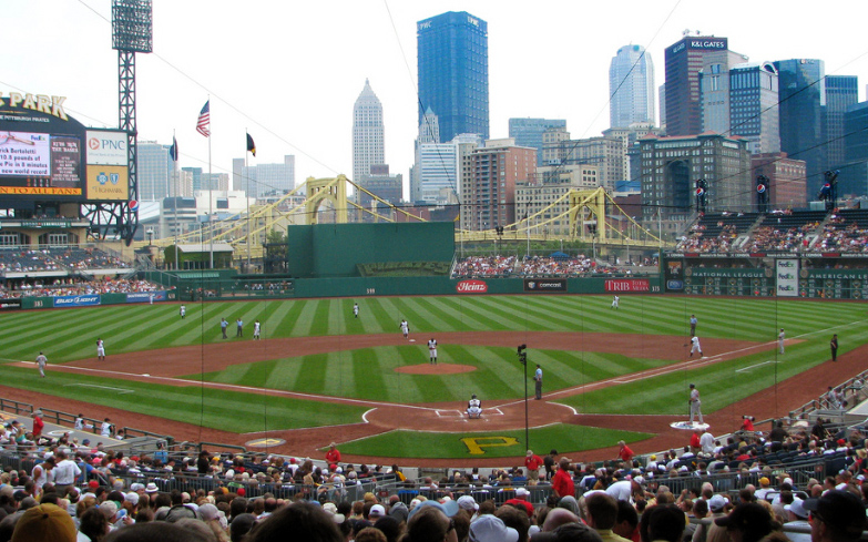 Best Views in America: Upper Deck, PNC Park, Pittsburgh