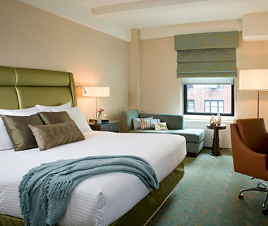 Most Comfortable Hotel Beds: Affinia Shelburne, New York City