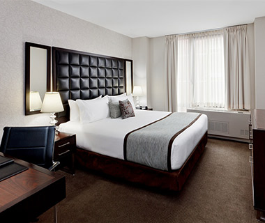 Most Comfortable Hotel Beds: Distrikt Hotel, New York City