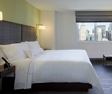 Most Comfortable Hotel Beds: Element New York Times Square West