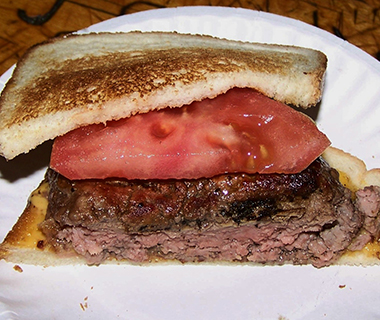 America's Best Burgers: The Original Burger, Louis' Lunch, New Haven, CT