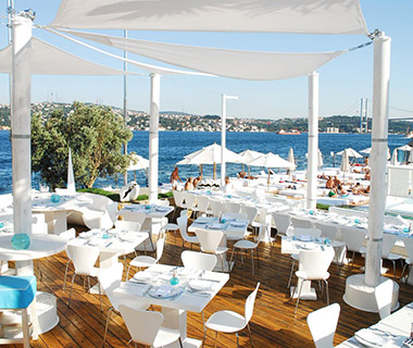 Coolest Floating Restaurants: 360istanbul Suada, Turkey