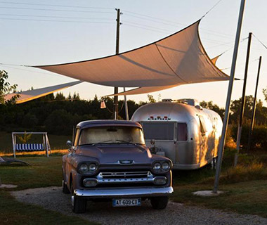 Strangest Vacation Rentals: Retro Camping in Vintage Airstreams, Mirepoix, France