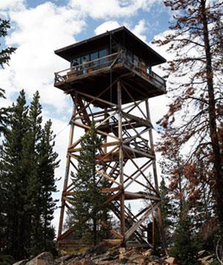 Strangest Vacation Rentals: Spruce Mountain Fire Lookout, WY