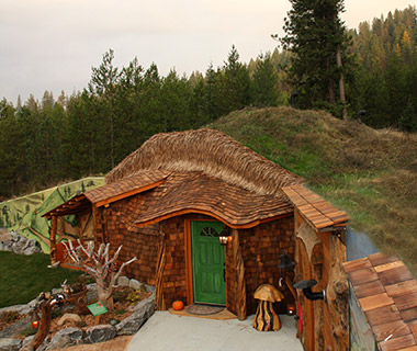 Strangest Vacation Rentals: The Shire of Montana, Trout Creek, MT