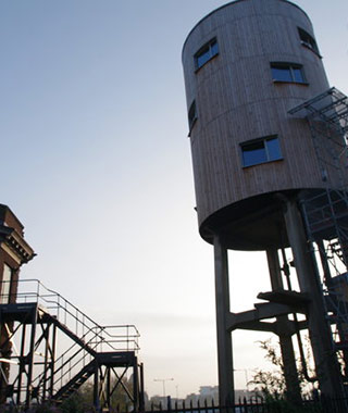 Strangest Vacation Rentals: Water Tower Room, London