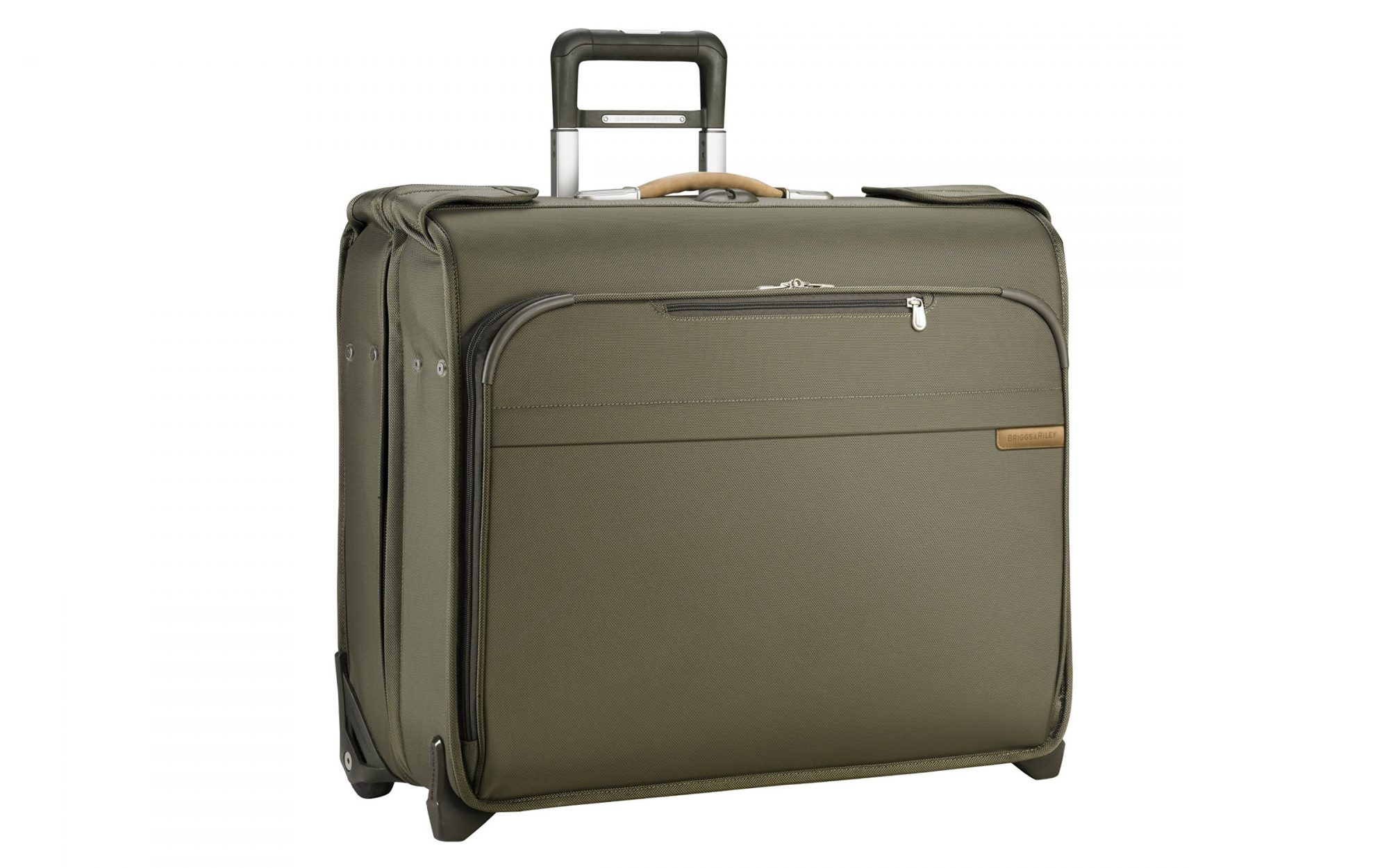 Best Carry-On Luggage for Business Travel: Briggs & Riley wheeled garment bag