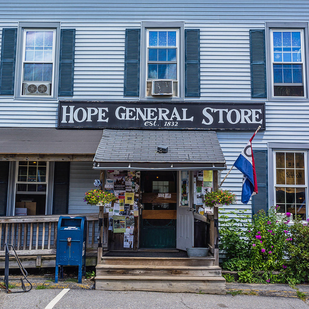 Classic New England General Stores in Maine