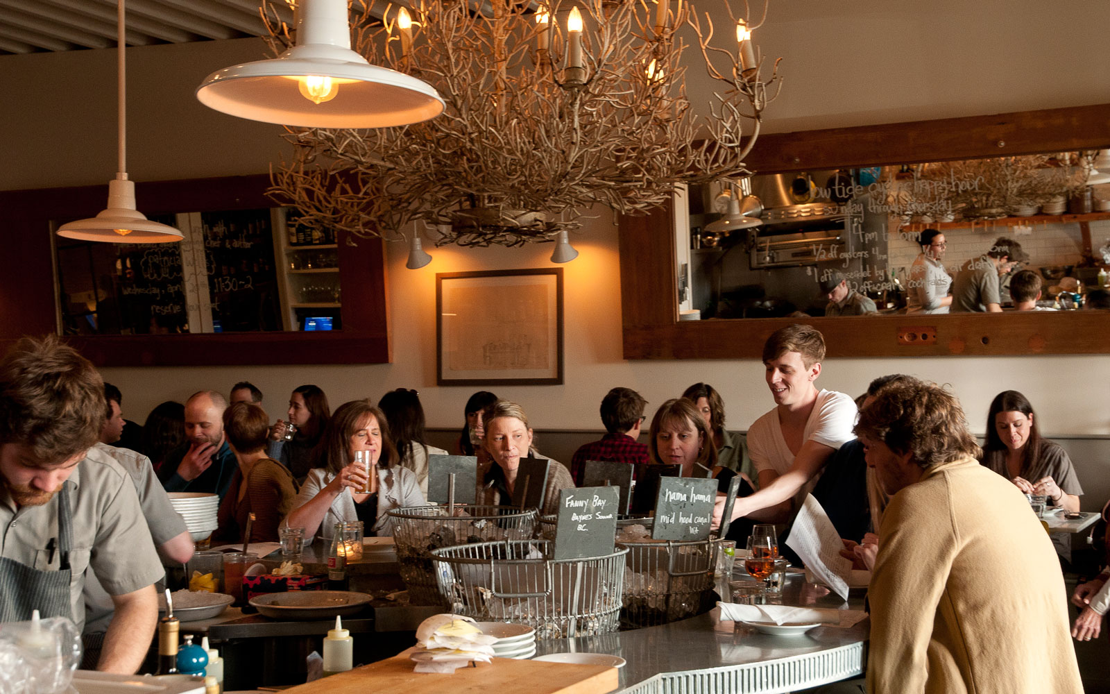 Best Oyster Bars in America: The Walrus and the Carpenter, Seattle