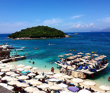 Beautiful Summer Travel Photos: Ksamil Beach, Sarandë, Albania