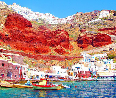 Beautiful Summer Travel Photos: Oia, Greece