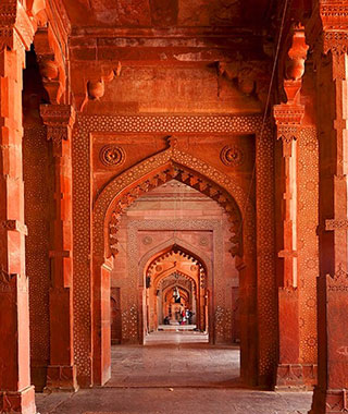 Beautiful Summer Travel Photos: Fatehpur Sikri, India