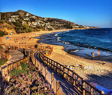 Beautiful Summer Travel Photos: Laguna Beach, CA