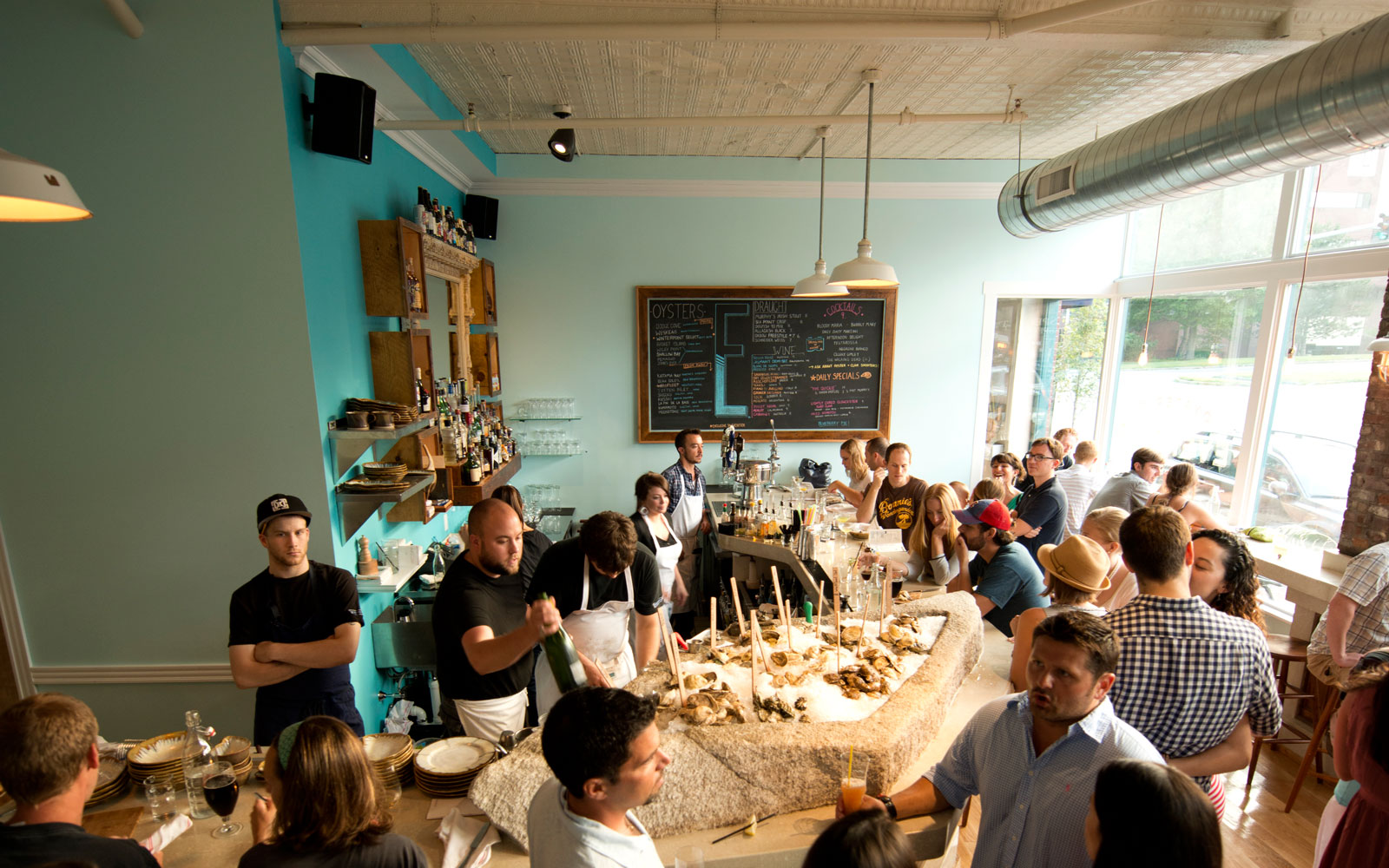 Best Oyster Bars in America: Eventide Oyster Co., Portland, ME