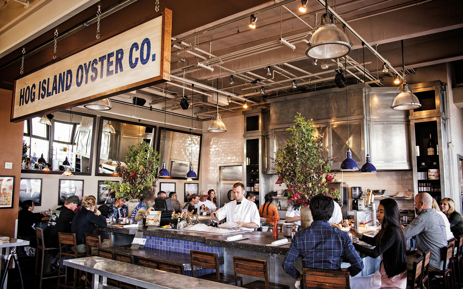 Best Oyster Bars in America: Hog Island Oyster Company, San Francisco