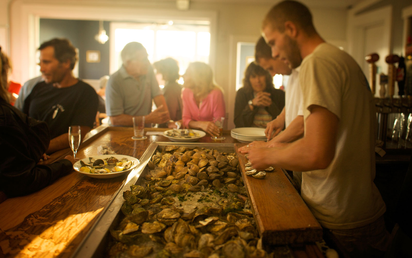 Best Oyster Bars in America: Matunuck Oyster Bar, South Kingstown, RI