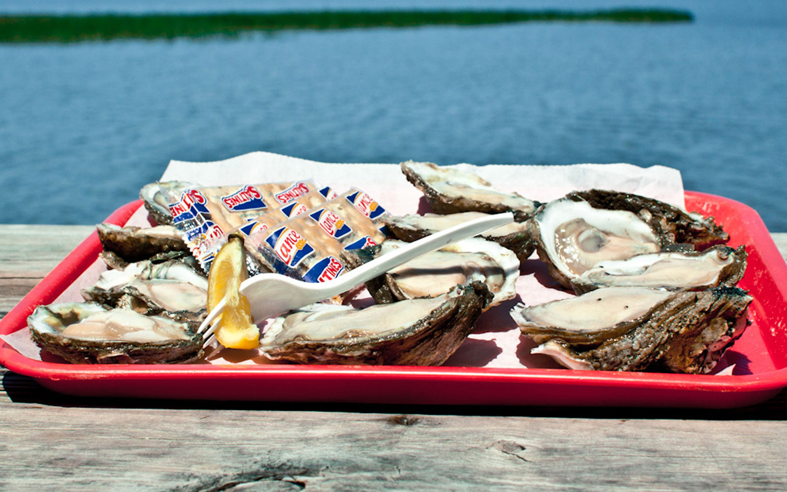 Up the Creek Raw Bar, Apalachicola, FL