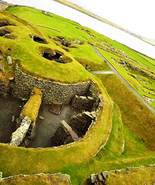 The Shetland Islands' Independent Streak: Ruins