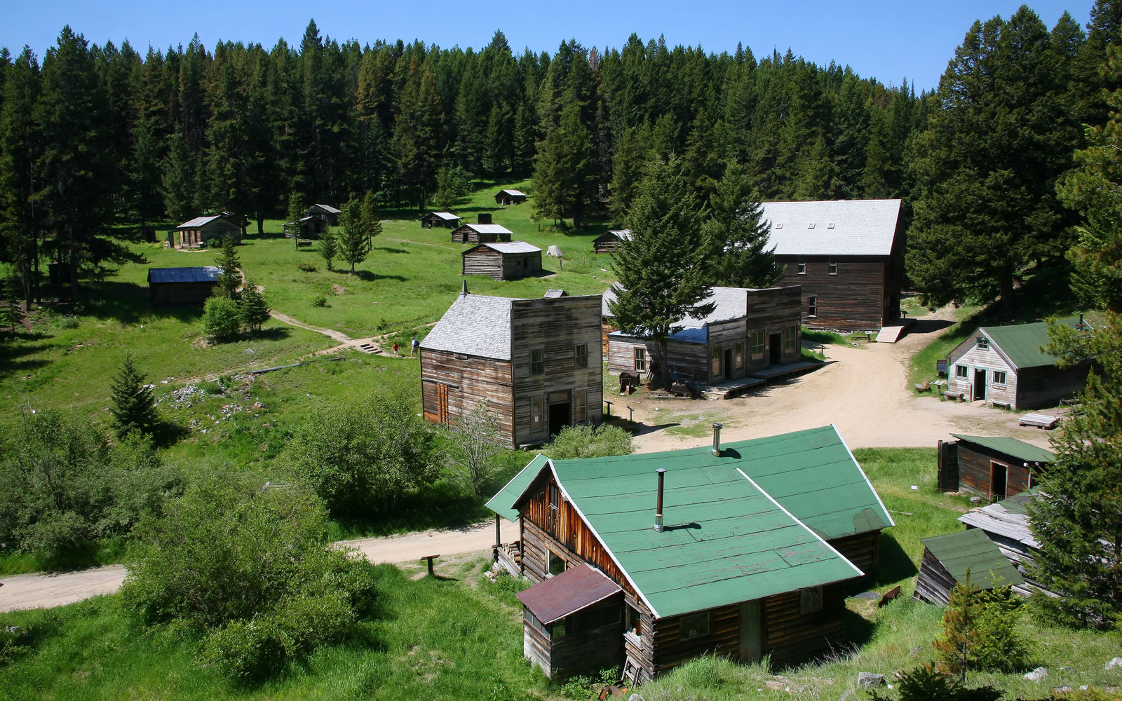 America's Coolest Ghost Towns: Garnet, MT