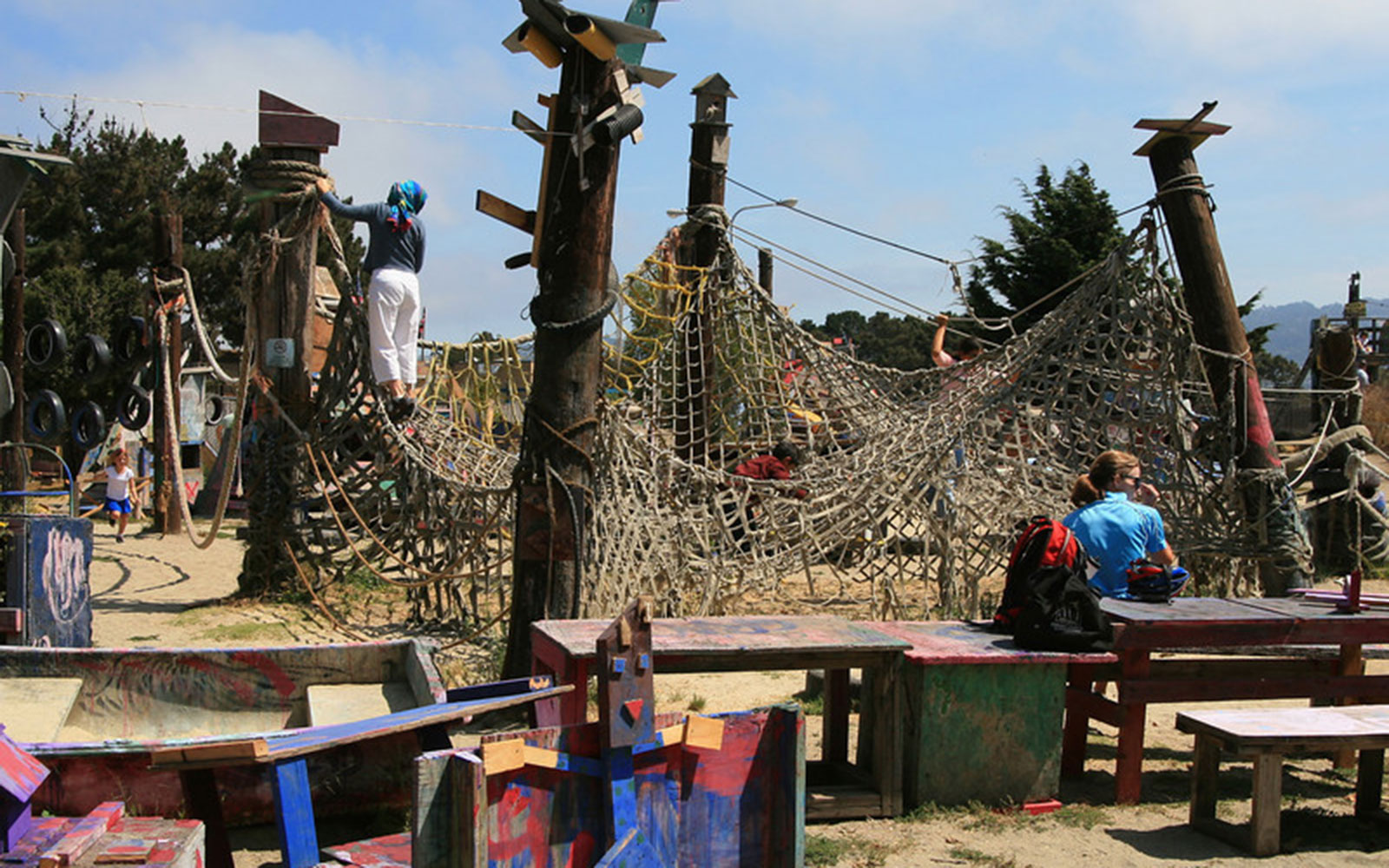 World's Coolest Playgrounds: Adventure Playground, Berkeley, CA