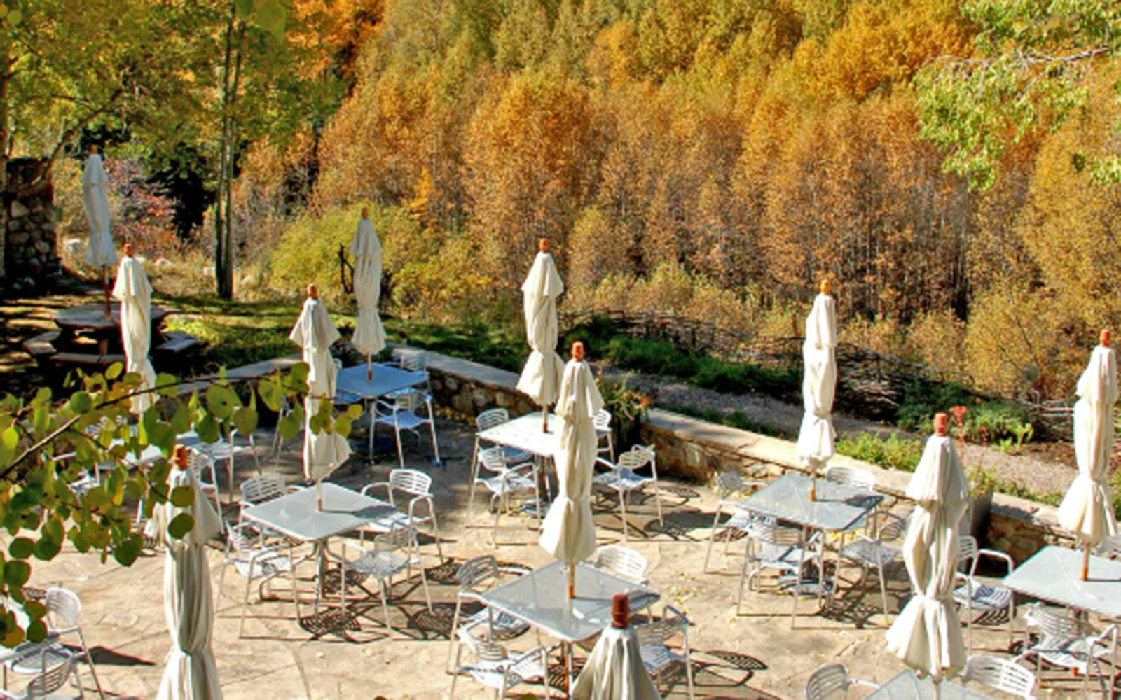 America's Best Hotels for Fall Colors: Aspen Meadows Resort, Aspen, CO