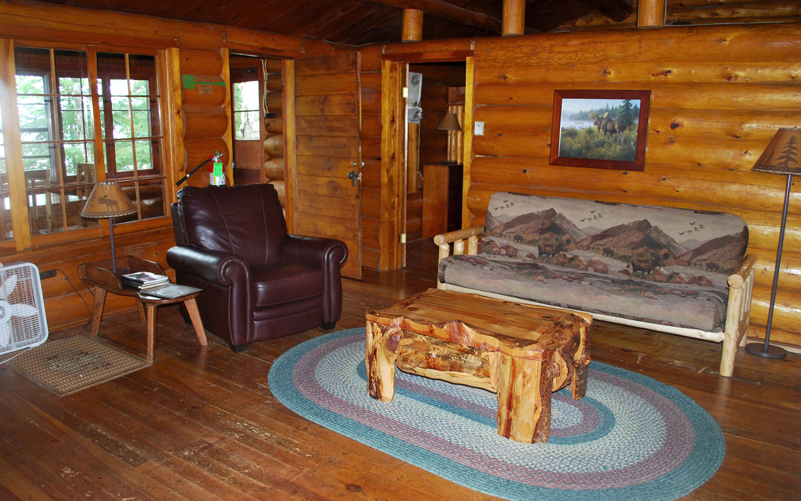 America's Best Hotels for Fall Colors: Clearwater Lake Lodge, MN