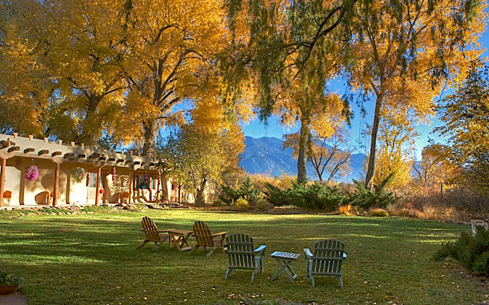 America's Best Hotels for Fall Colors: Hacienda del Sol, Taos, NM