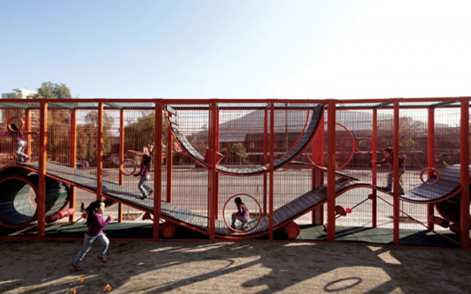 World's Coolest Playgrounds: Bicentennial Children's Park, Santiago, Chile