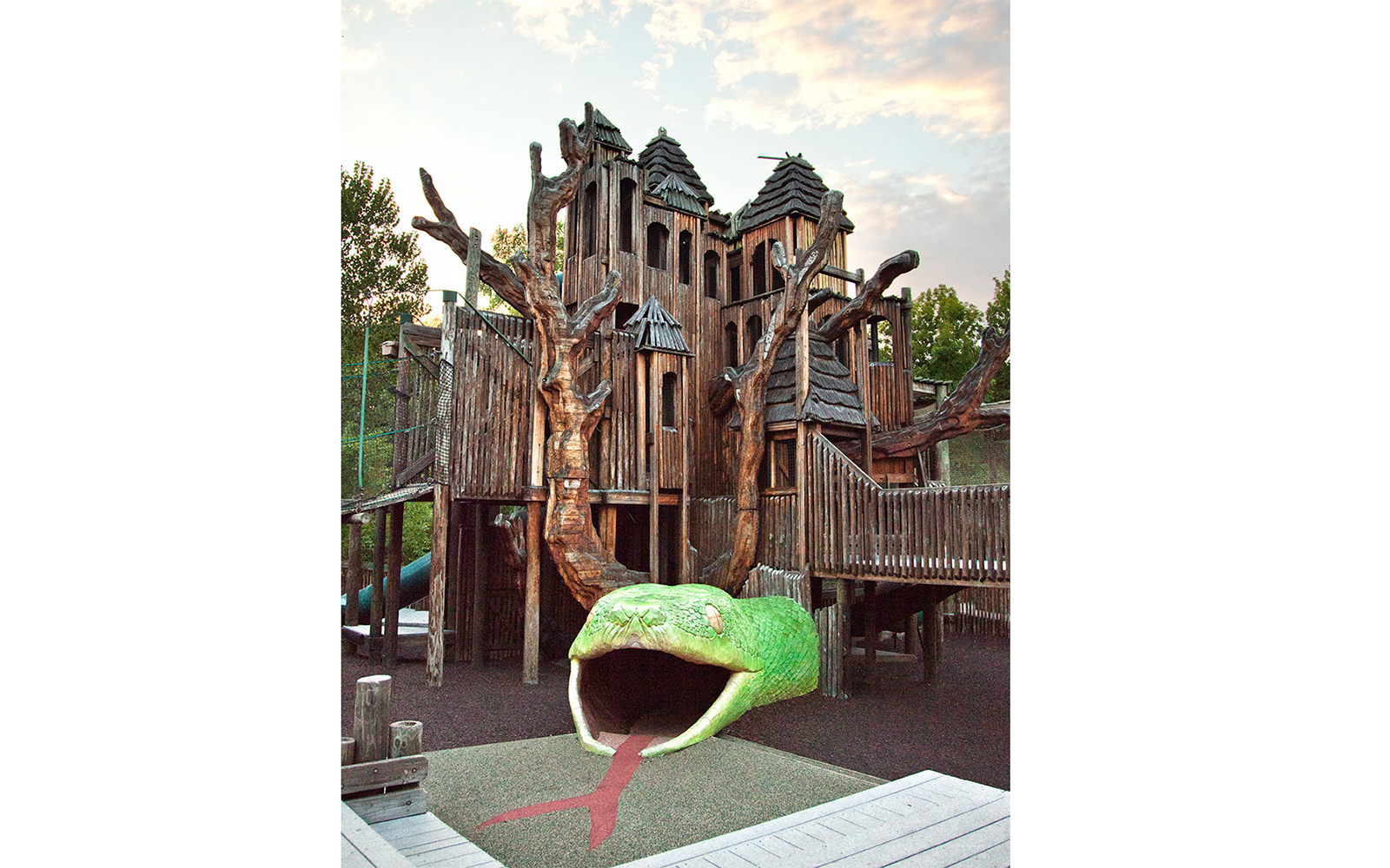 World's Coolest Playgrounds: Jungle Gym, Nashville