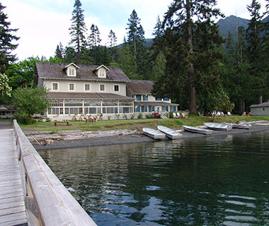 Puget Sound Getaway From Seattle: Lake Crescent Lodge