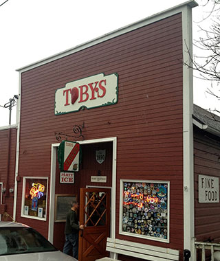 Puget Sound Getaway From Seattle: Toby's Tavern