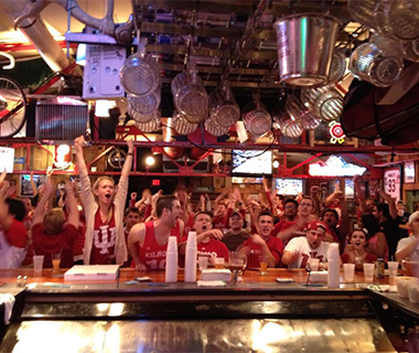 Best Sports Bars in America: Nick's English Hut, Bloomington, IN