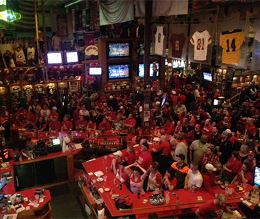 Pooley's Sports Bar, Madison, WI